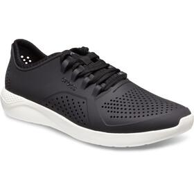 Crocs LiteRide Pacer Shoes Men Black/White